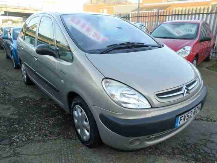 2003 Citroen Xsara Picasso 2.0 HDi SX 5dr 5 door Estate