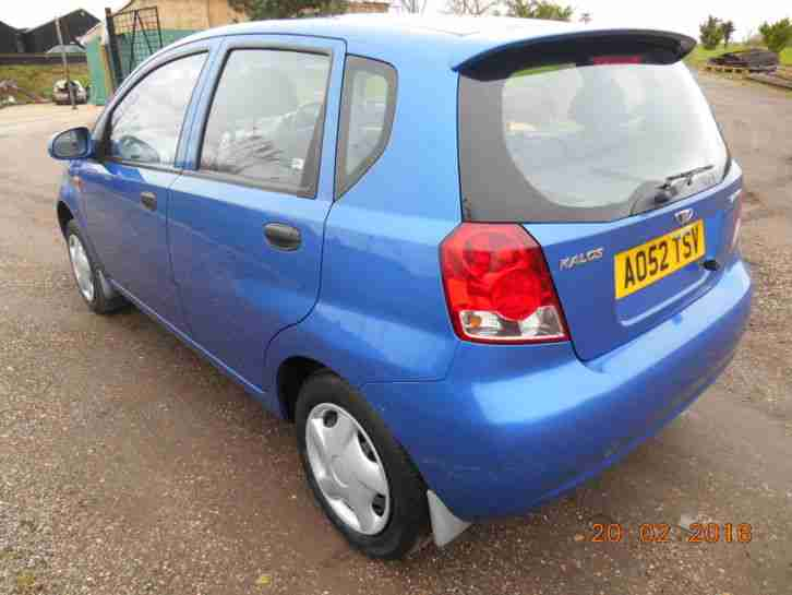 2003 DAEWOO KALOS SX BLUE 1 YEARS MOT