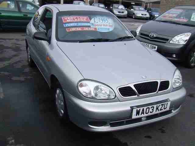 2003 LANOS 1.4 5 Speed From GBP695 +