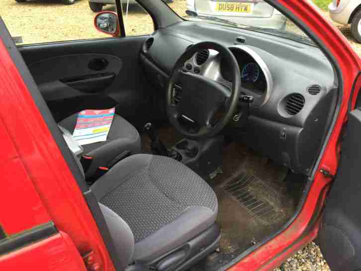 2003 DAEWOO MATIZ SE PLUS RED. SPARE OR REPAIR