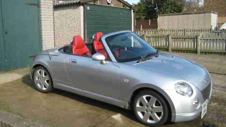 2003 COPEN CONVERTIBLE SILVER WITH