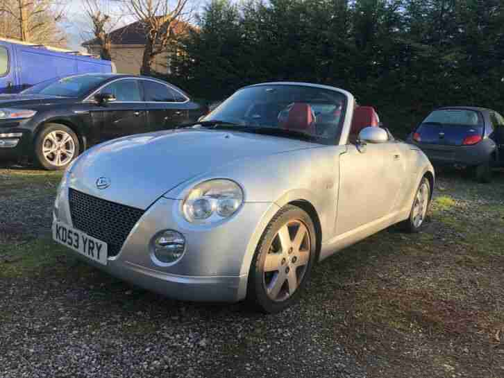 2003 Daihatsu Copen 0.66 CONVERTIBLE + Red Heated Leather