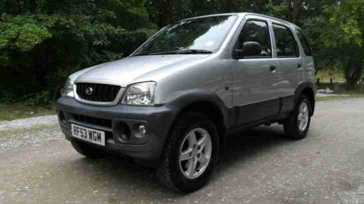 2003 Daihatsu Terios 1.3 Tracker 5dr 5 door Hatchback