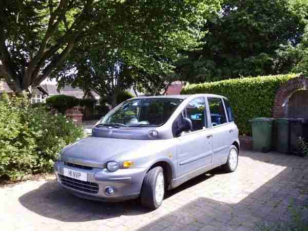 Fiat MULTIPLA. Fiat car from United Kingdom