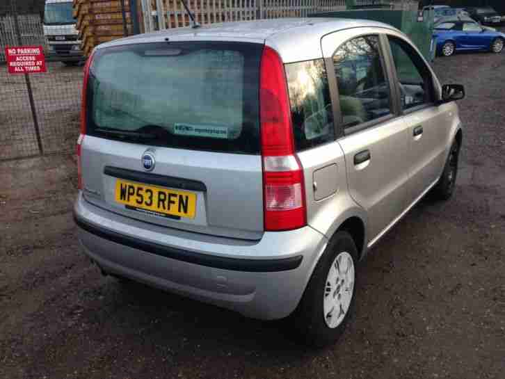 2003 FIAT PANDA DYNAMIC GREY SPARES OR REPAIRS