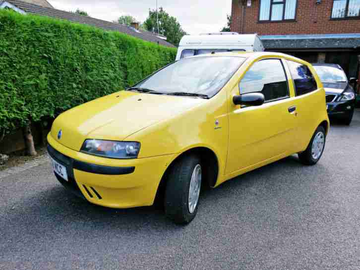 2003 PUNTO ACTIVE SPORT YELLOW GENUINE