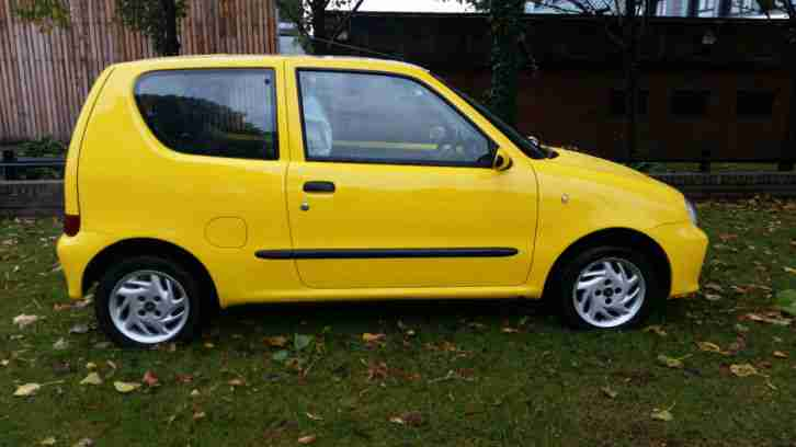 Fiat 2003 SEICENTO SPORTING YELLOW. car for sale