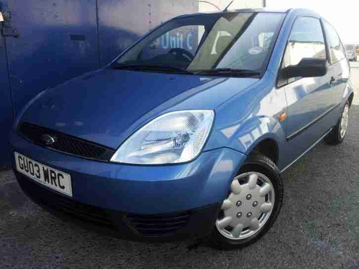 2003 FORD FIESTA FINESSE BLUE 1.3 LOVELY CONDITION LOW MILEAGE IDEAL FIRST CAR
