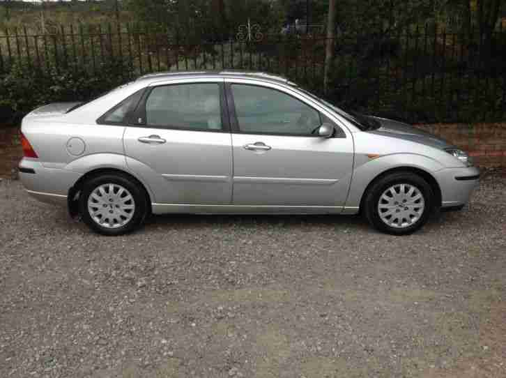 2003 FORD FOCUS 2.0 GHIA SALOON AUTOMATIC PETROL