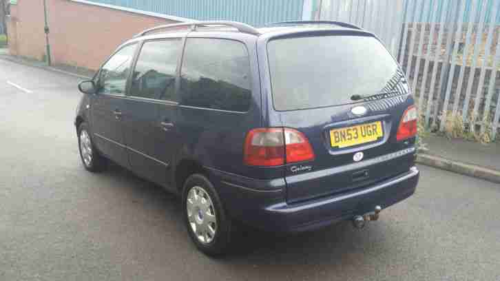 2003 FORD GALAXY LX TDI BLUE SAME AS SEAT ALHAMBRA VOLKSWAGEN SHARAN