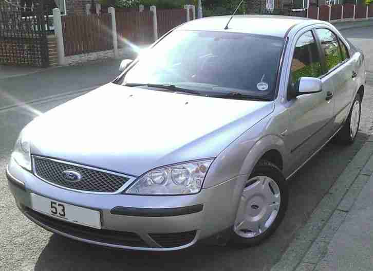 ford 2003 mondeo lx tdci silver car for sale. Black Bedroom Furniture Sets. Home Design Ideas