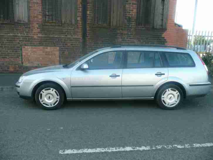 2003 FORD MONDEO LX VALUABLE REG ,DRIVES SUPERB NO RESERVE SALE