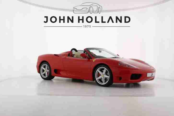 2003 Ferrari 360M Spider, Very Rare Manual Gearbox, Highly Collectable, Only Col