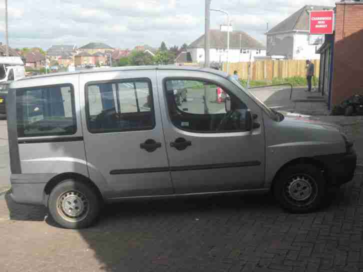 Fiat Doblo. Fiat car from United Kingdom
