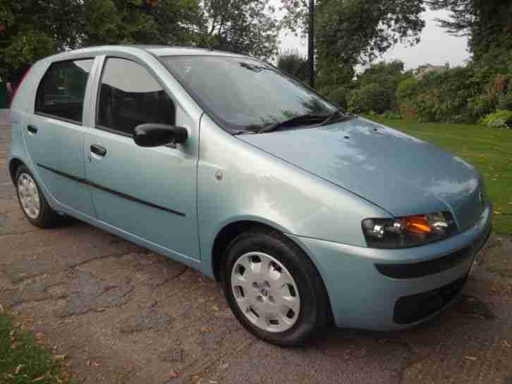 fiat 2003 punto active 1249cc 5 door in blue car for sale. Black Bedroom Furniture Sets. Home Design Ideas