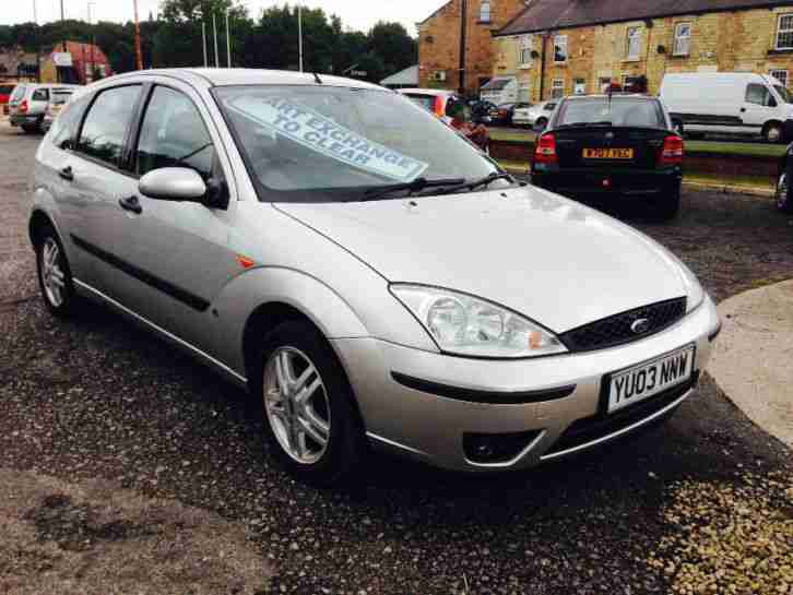 2003 Focus 1.4i 16v CL, MOT Oct 2015,