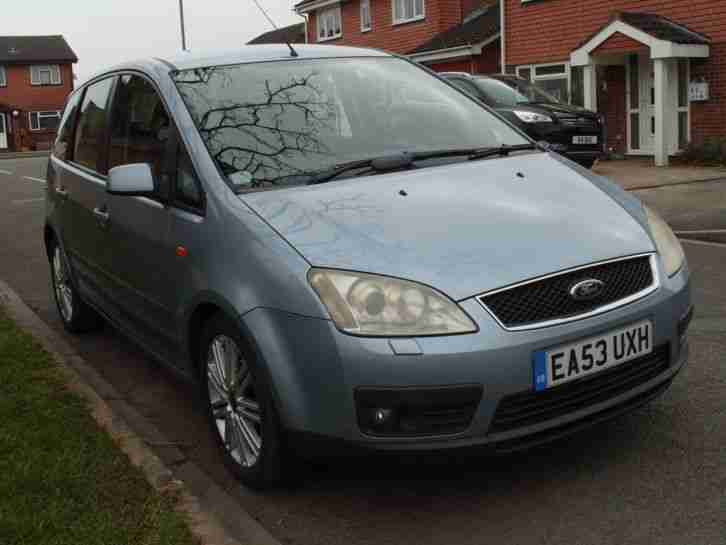 2003 Ford Focus C MAX Zetec (TITANIUM SPEC) Leather Interior