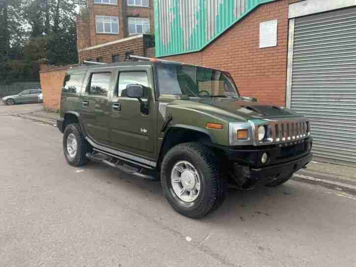 2003 H2 6.0 LHD LEFT HAND DRIVE