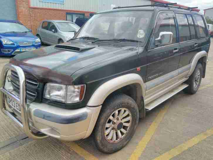 2003 ISUZU TROOPER 3.0TD CITATION LWB 106000 MILES 12mth MOT 7 seat Leather 4x4