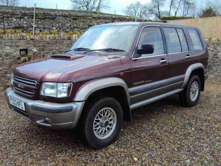 2003 TROOPER CITATION 3.0 DIESEL TURBO