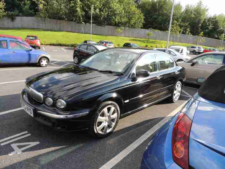 jaguar 2003 x type 3 0 v6 se awd black 5 speed manual car for sale. Black Bedroom Furniture Sets. Home Design Ideas