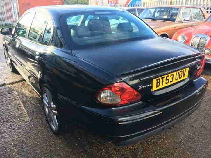 2003 JAGUAR X-TYPE SPORT 2.0 DIESEL BLACK VERY GOOD CONDITION HPI CLEAR
