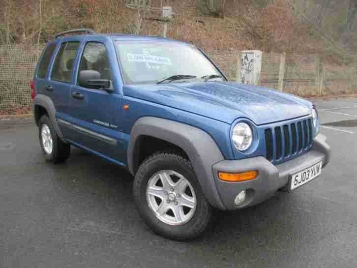 2003 JEEP CHEROKEE 2.4 SPORT, ONLY 49K MILES, 1 PREV OWNER, STUNNING EXAMPLE