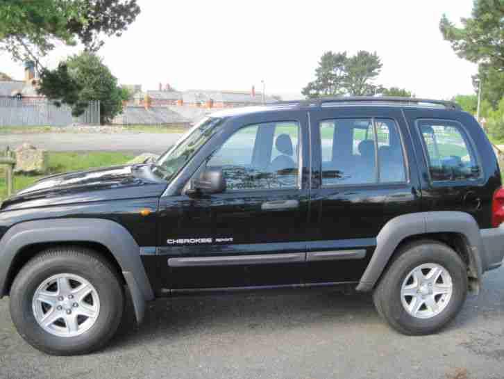 jeep 2003 cherokee 2 5 crd sport 4x4 diesel 60k manual. Black Bedroom Furniture Sets. Home Design Ideas