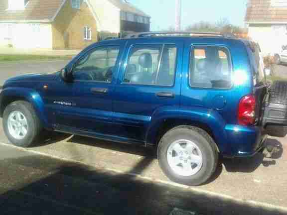2003 JEEP CHEROKEE 3.7 LIMITED AUTO BLUE