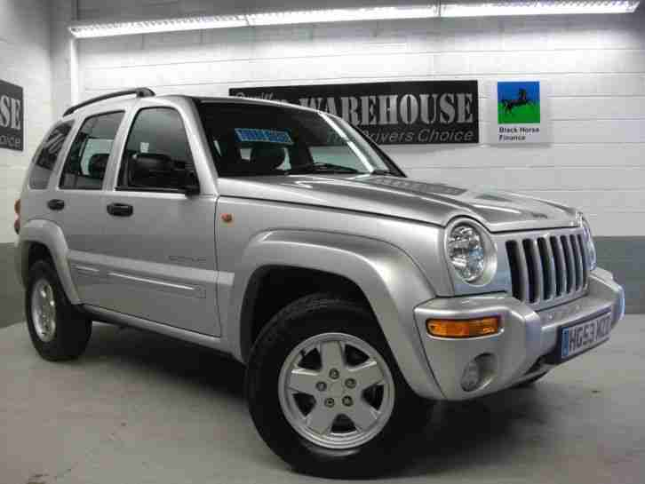2003 CHEROKEE LIMITED CRD Manual Estate