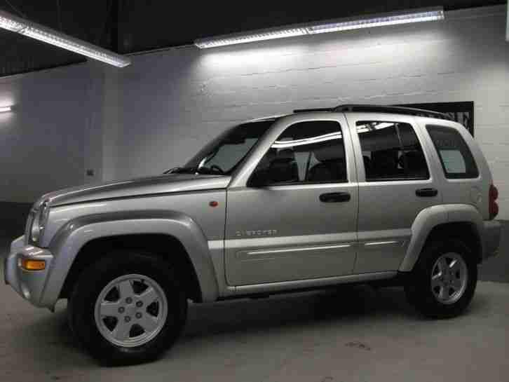 jeep 2003 cherokee limited crd manual estate car for sale. Black Bedroom Furniture Sets. Home Design Ideas
