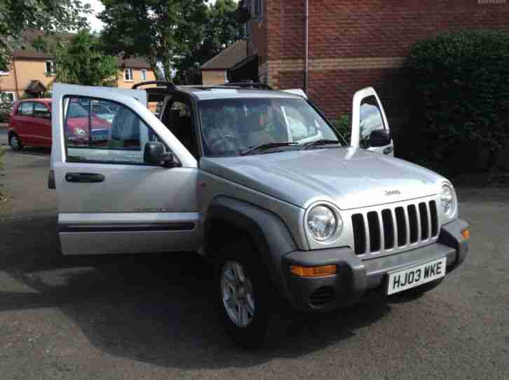jeep 2003 cherokee sport 2 4 silver 2 4 with lpg. Black Bedroom Furniture Sets. Home Design Ideas
