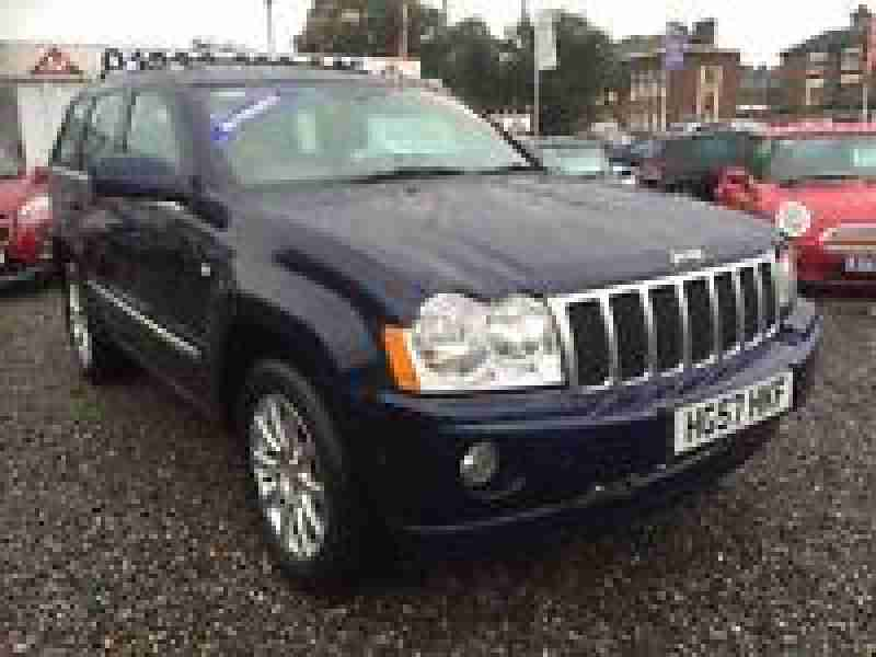 jeep 2003 grand cherokee 2 7 crd limited 5dr auto diesel massive spec. Black Bedroom Furniture Sets. Home Design Ideas
