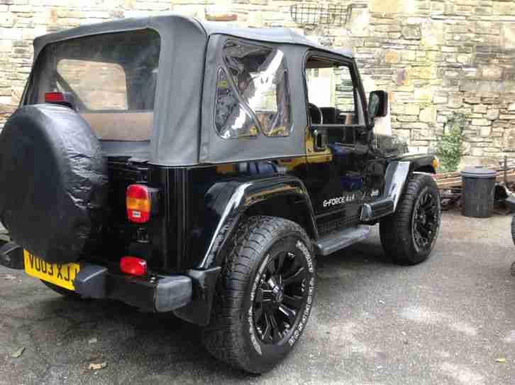 jeep 2003 wrangler sahara black air con car for sale. Black Bedroom Furniture Sets. Home Design Ideas