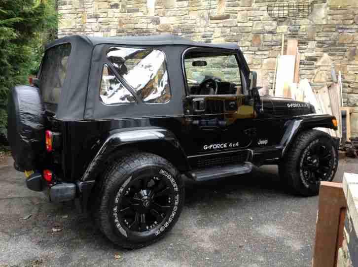 Jeep 2003 WRANGLER SAHARA BLACK AIR CON car for sale