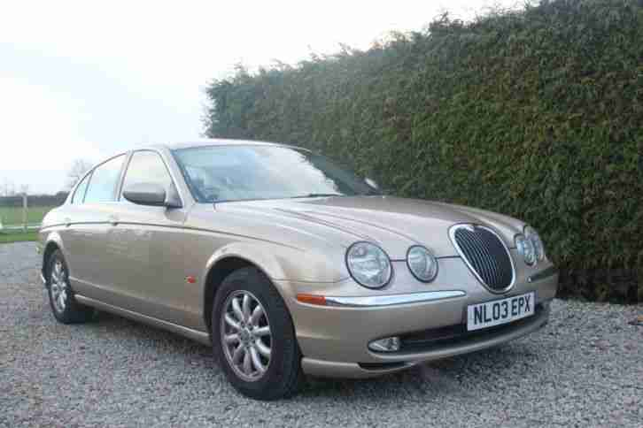 Jaguar 2003 S TYPE 3.0...