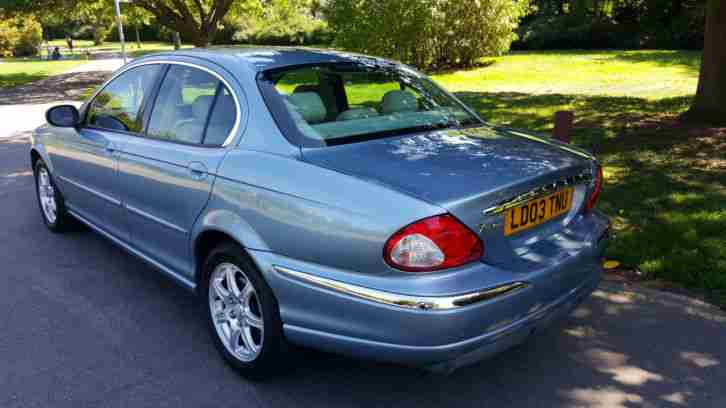 2003 Jaguar X-TYPE 2.0 V6 Auto SE FULL Cream Leather