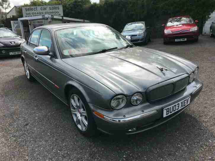 Jaguar XJ8. Jaguar car from United Kingdom