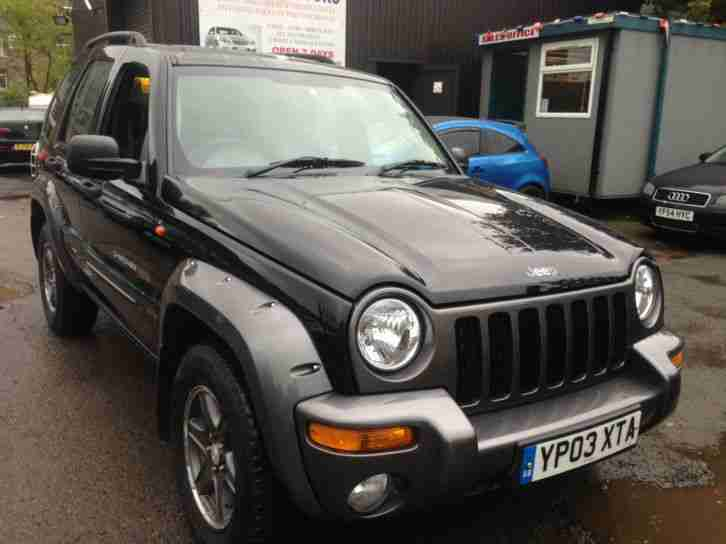jeep 2003 cherokee 2 8 crd auto extreme sport 4x4 diesel car for sale. Black Bedroom Furniture Sets. Home Design Ideas