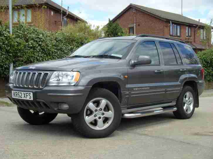 jeep 2003 grand cherokee 2 7 crd overland auto top spec. Black Bedroom Furniture Sets. Home Design Ideas