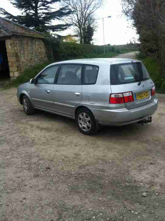2003 KIA CARENS CRDI LX AUTO SILVER- will take part exchange