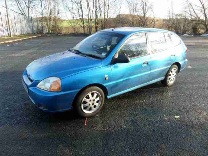 2003 KIA RIO 1.3 ICE, LONG TEST, DRIVES WELL.