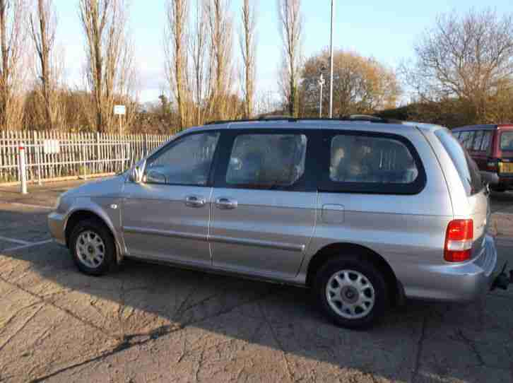 2003 KIA SEDONA L 2.9 Mercedes Diesel Engine. 9 Months MOT, Cheapest on EBAY!
