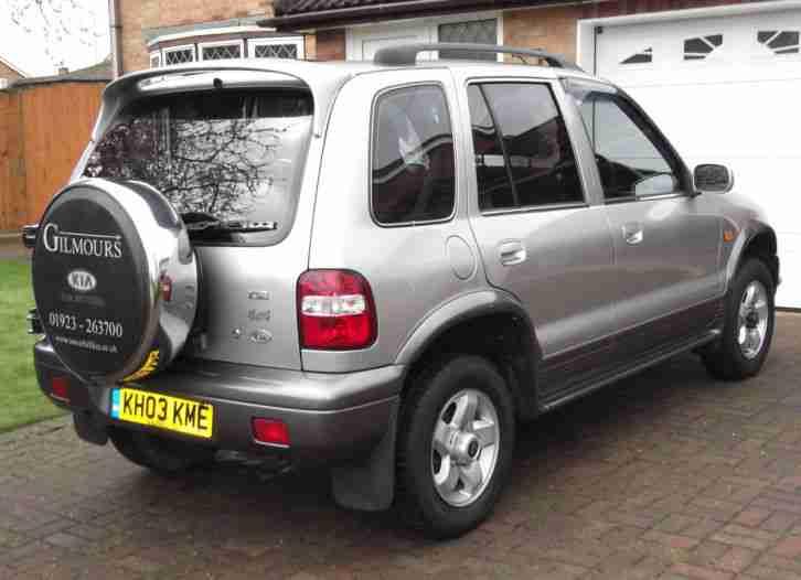 Kia 2003 SPORTAGE XSE SILVER. Car For Sale