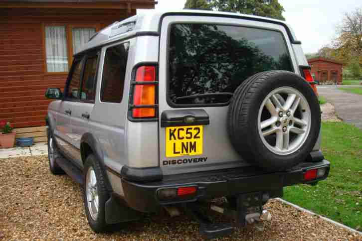 2003 LAND ROVER DISCOVERY TD5 XS AUTO SILVER