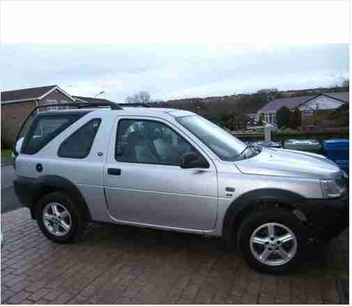 2003 LAND ROVER FREELANDER ES SILVER. Car For Sale