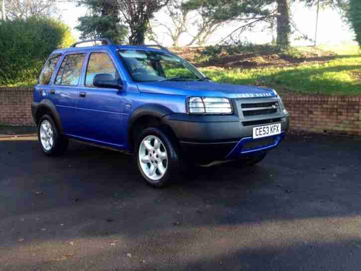 2003 land rover freelander kalahari td4 blue 5 door manual. Black Bedroom Furniture Sets. Home Design Ideas