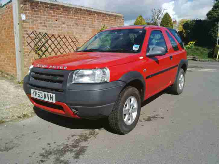 2003 land rover freelander masai h b red car for sale. Black Bedroom Furniture Sets. Home Design Ideas