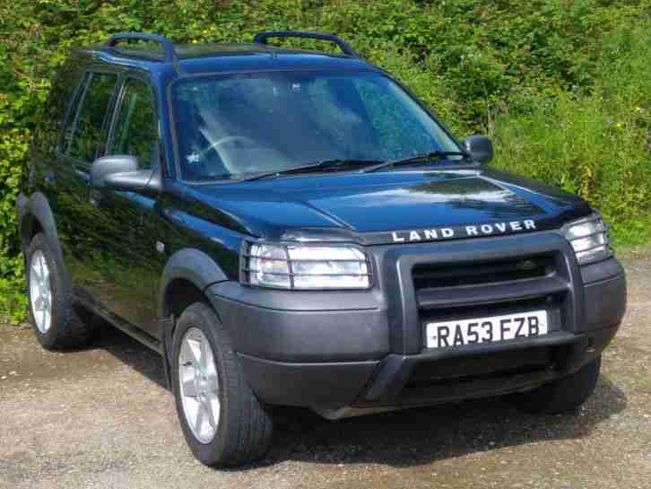 2003 LAND ROVER FREELANDER SERENGETI SE BLACK. car for sale