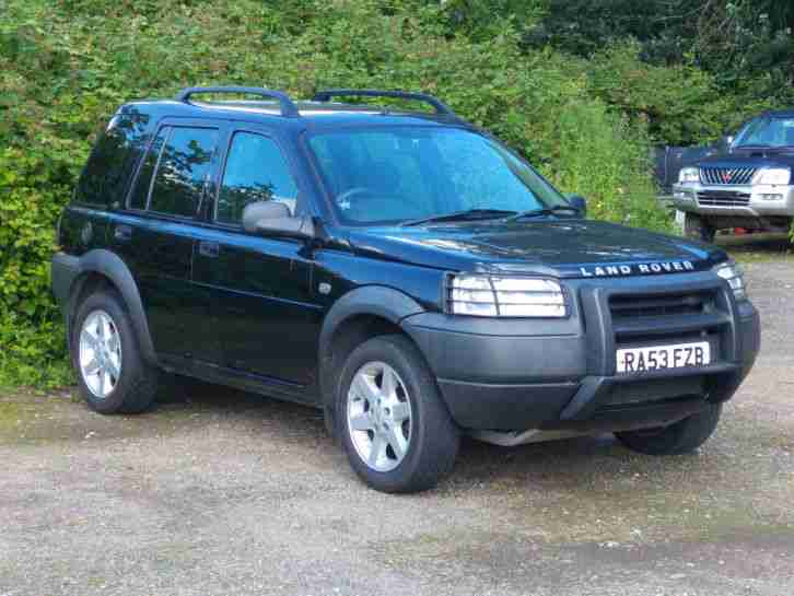 2003 land rover freelander serengeti se black car for sale. Black Bedroom Furniture Sets. Home Design Ideas